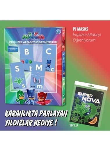 Pj Masks PJ Masks İngilizce Alfabeyi Öğreniyorum Renkli